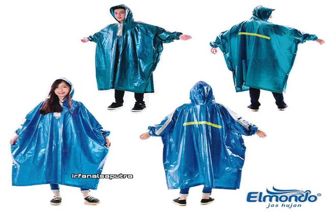 jas hujan elmondo funtastic