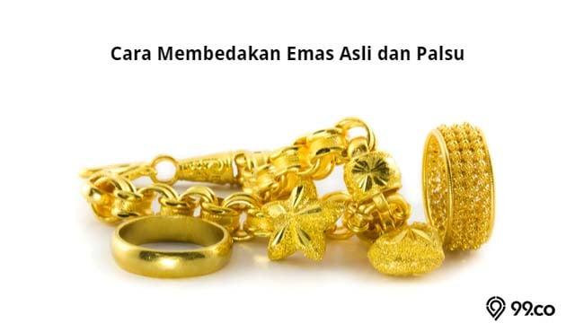 cara membedakan emas asli dan palsu