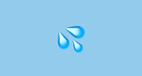 emoji keringat