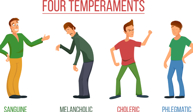 empat temperamen