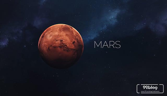 fakta unik planet mars