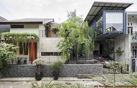 fasad rumah asri