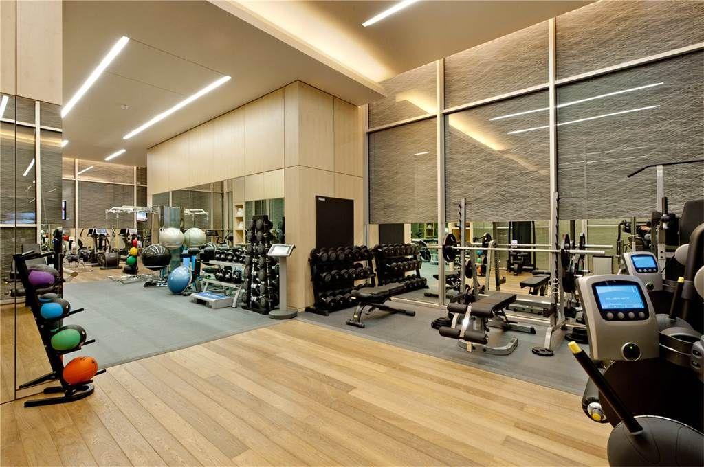 fasilitas gym di apartemen