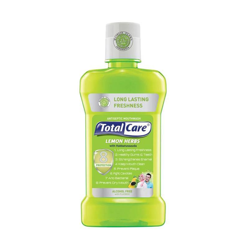 obat kumur terbaik total cara lemon herbs