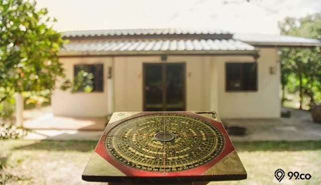 desain atap rumah feng shui