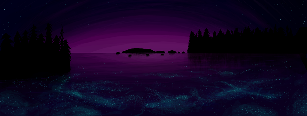 fenomena aneh bioluminescence - 7 Tempat Dengan Fenomena Aneh Di Dunia | Ada Laut Setan!