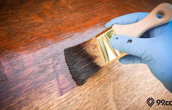 jenis finishing kayu
