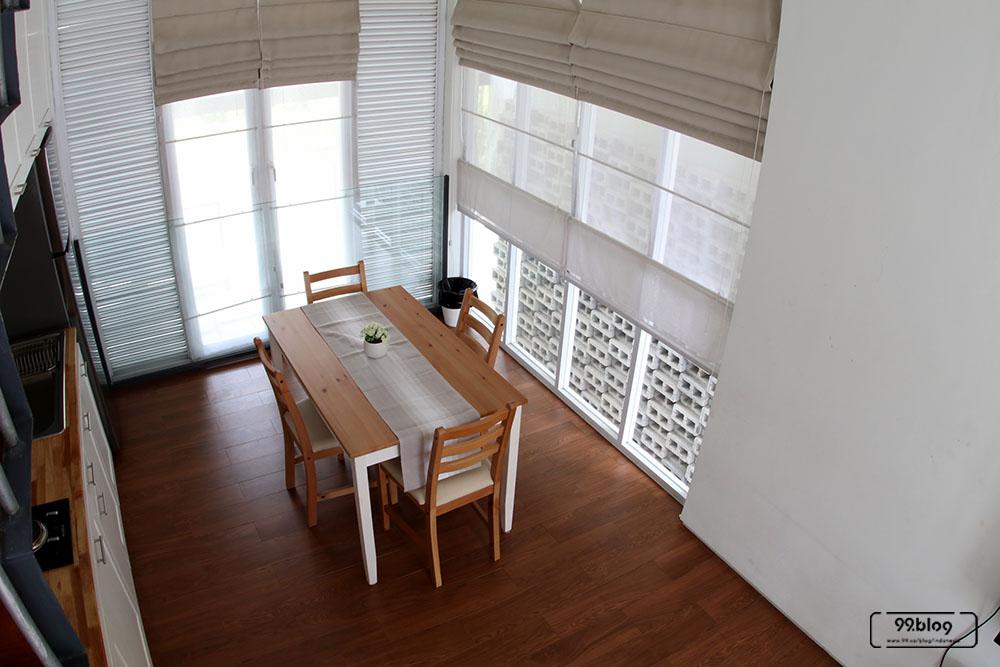 kaca rumah tropis minimalis