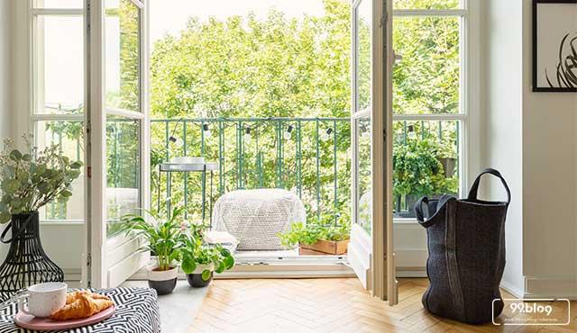 fungsi balkon rumah