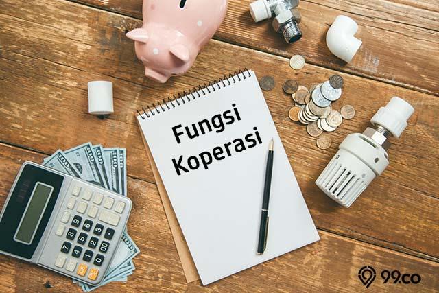 fungsi koperasi di Indonesia