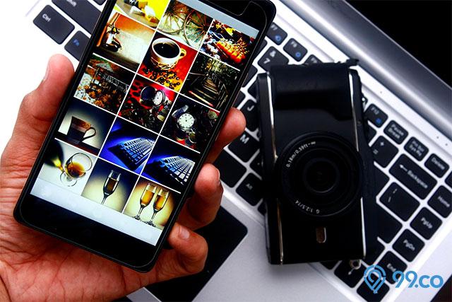 smartphone laptop dan kamera