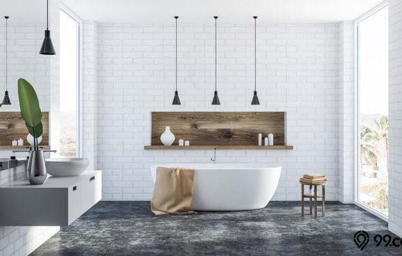 gambar kamar mandi modern