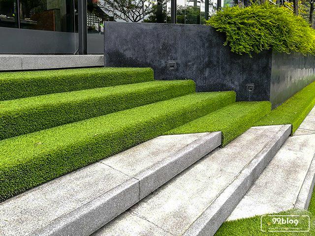 gambar rumput sintetis