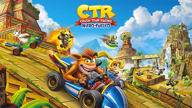 game crash team racing