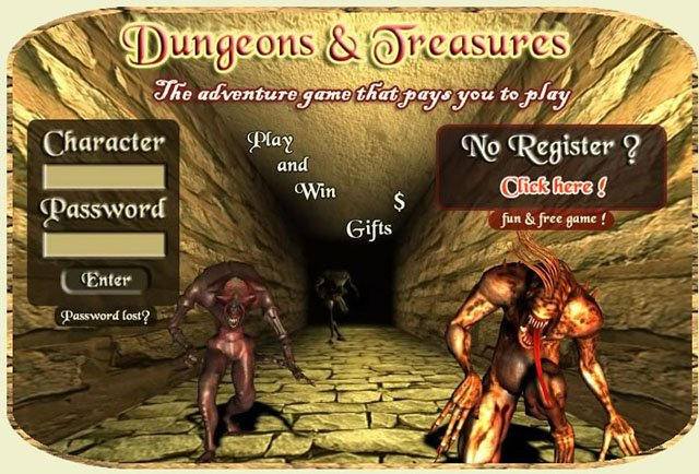 Dungeons and Treasures