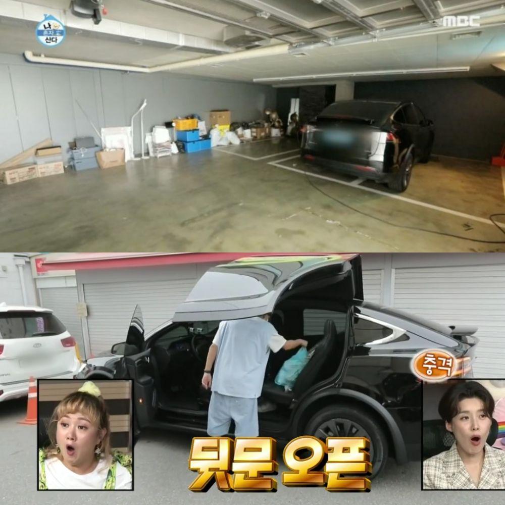 garasi luas milik aktor korea