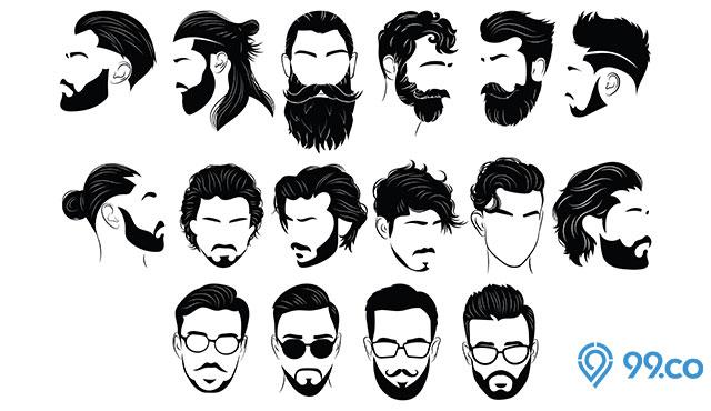 10 Gaya Rambut Pria Terbaik 2020 Dijamin Bikin Wanita Terpesona