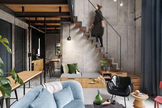 7 Gaya Rumah Industrial Yang Stylish Minimalis Favorit Tahun 2020