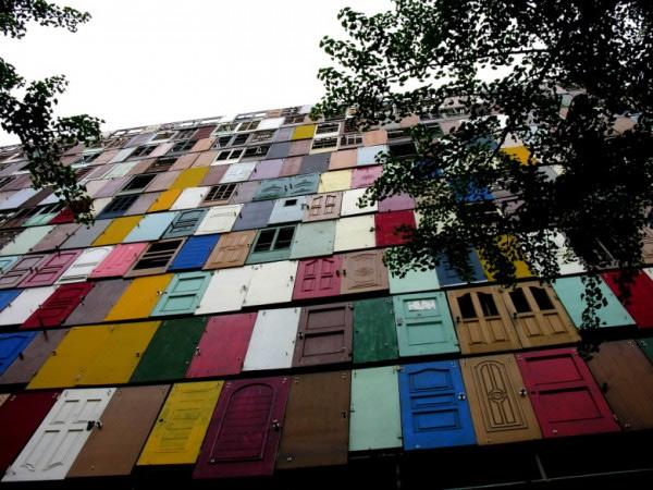gedung di korea selatan