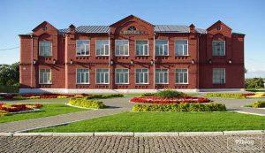 gedung sekolah unik