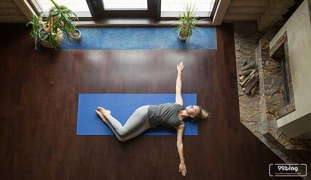 gerakan yoga melangsingkan perut