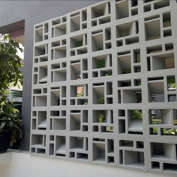 pagar block motif labirin