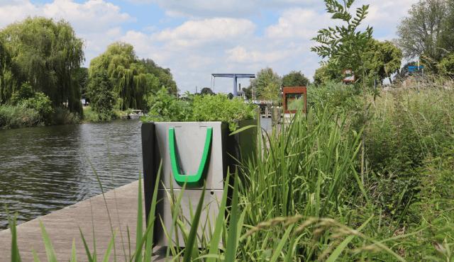 green pee toilet amsterdam