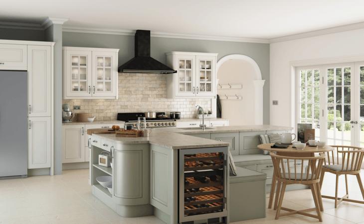 breakfast nook layout kitchen set