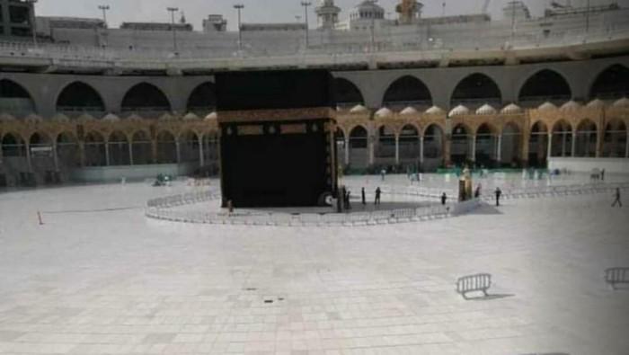masjidil haram kosong