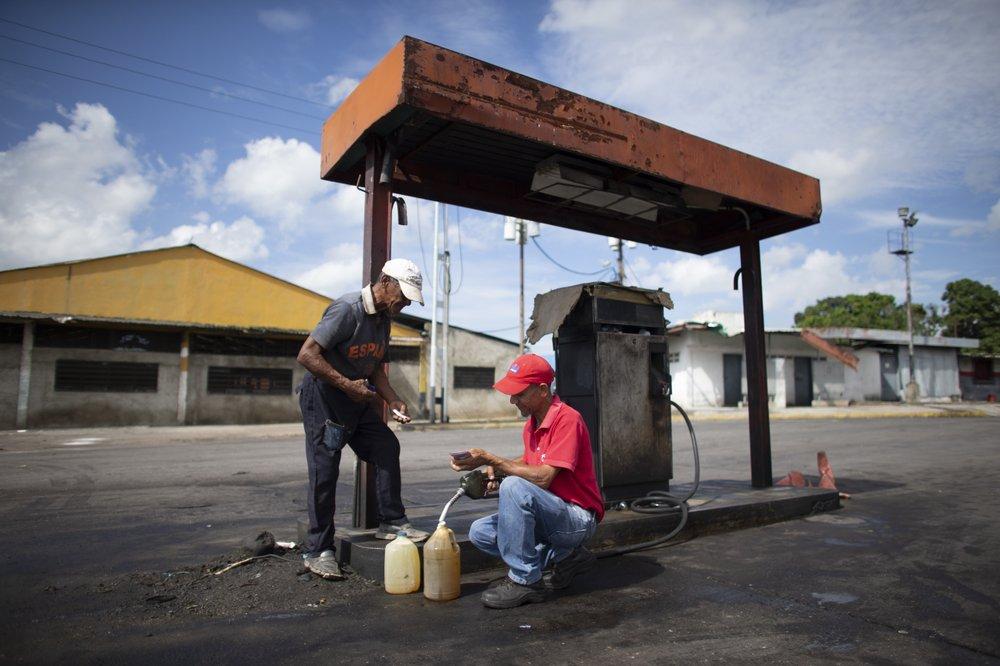 harga bbm venezuella
