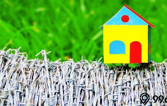 pagar kawat duri rumah