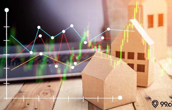 harga saham properti indonesia
