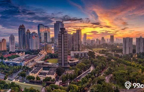 harga sewa apartemen kota besar indonesia