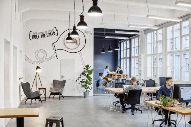 desain co working space