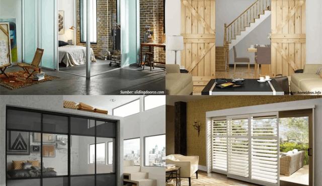 5 Rekomendasi Model Pintu Geser untuk Rumah Berukuran Sempit