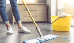 cara mengepel lantai