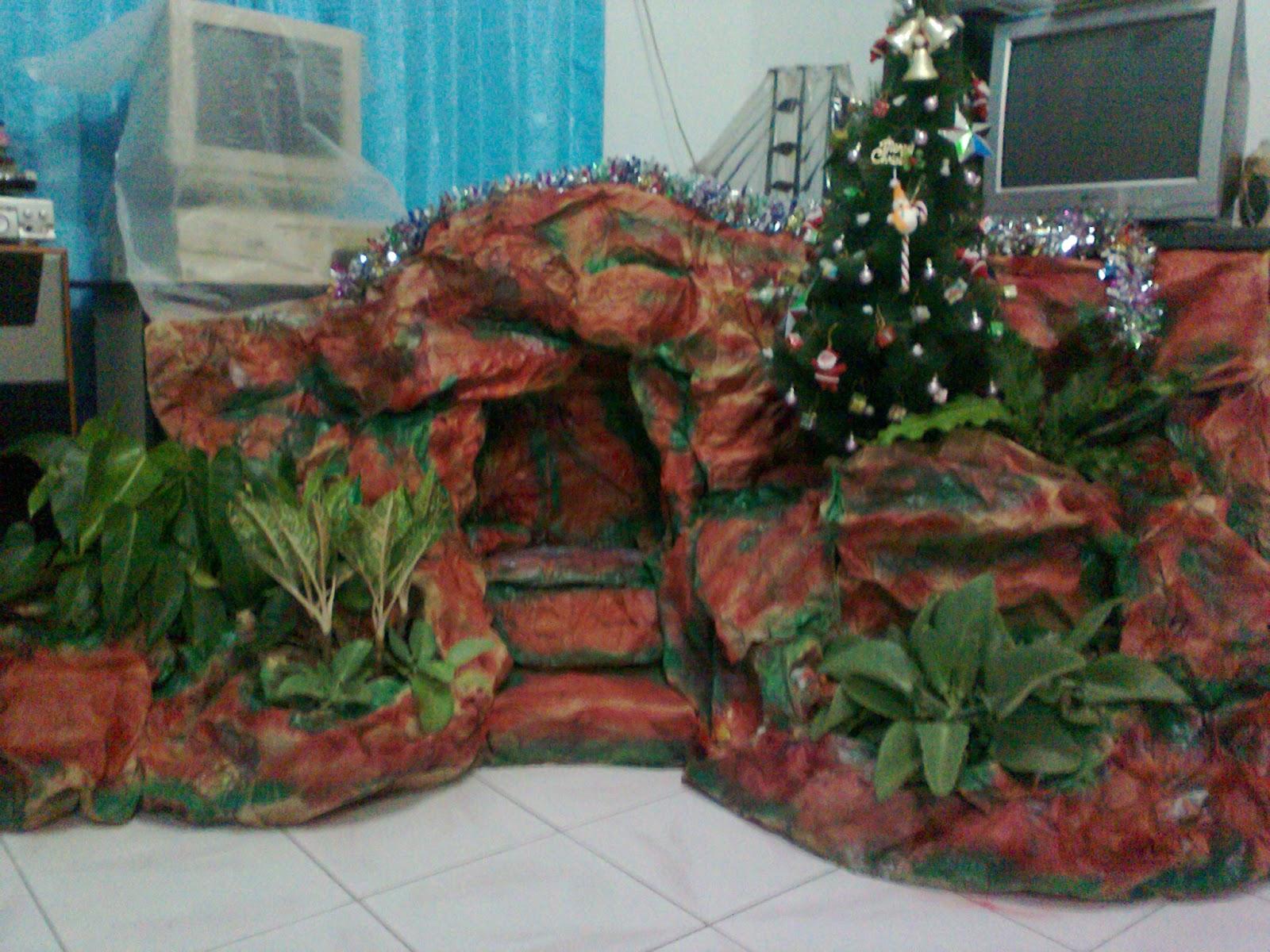 Cara Membuat Gua Natal Sederhana Untuk Rumah Sempit