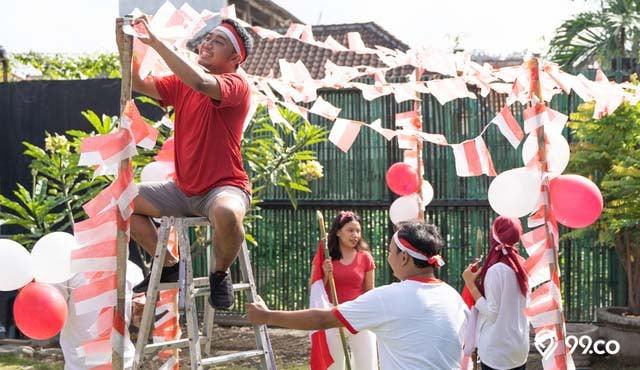DIY: Hiasan 17 Agustus dari Kertas & Plastik | Tunjukkan Jiwa Nasionalismemu!