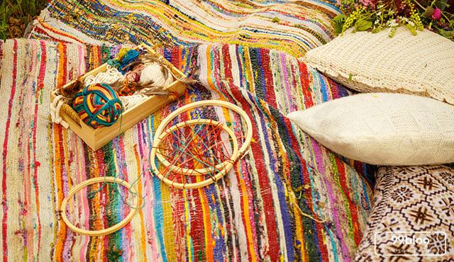 15 Gambar Hiasan Dinding Kamar Gaya Boho Yang Cantik