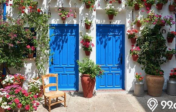 dekorasi dinding luar
