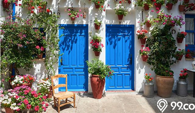 7 Tips Dekorasi Dinding Luar Rumah untuk Tampilan Hangat & Tetap Stylish