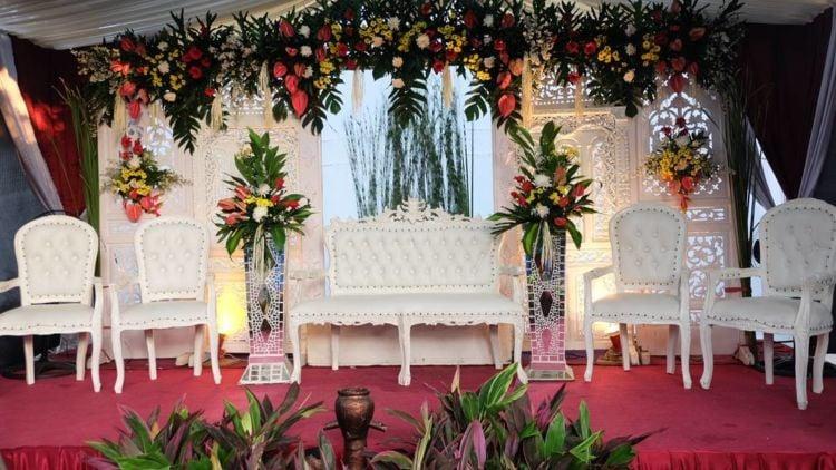 dekorasi nikah sederhana