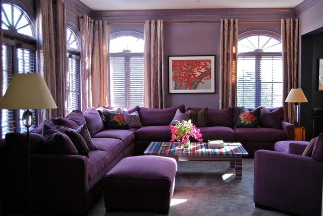 5 Inspirasi Desain Cat Rumah Warna Ungu Yang Elegan Dan Berkelas