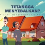 hukum pidana tetangga menyebalkan