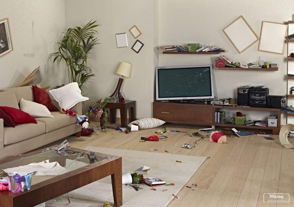 kecelakaan di rumah