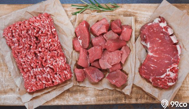 ciri ciri daging sapi