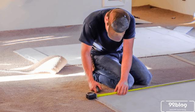 Cara Memasang Karpet Lantai Plastik dan Tile | Anti Bergelombang!