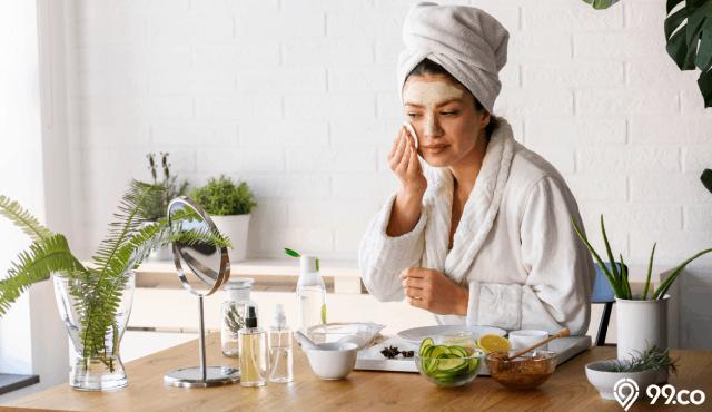 skincare untuk wajah bruntusan