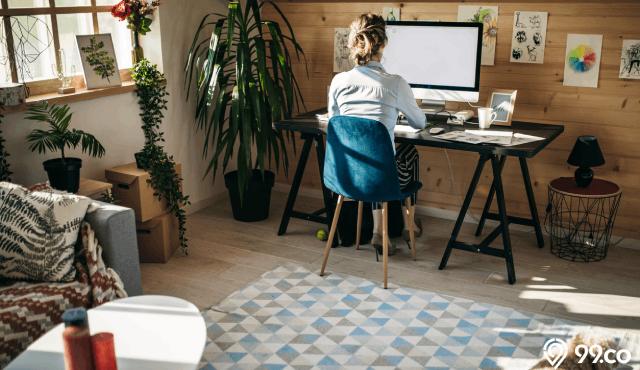 5 Cara Menata Ruang Kerja yang Sempit Agar WFH Tetap Nyaman