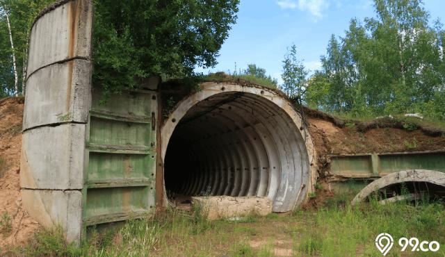 Bunker Anti Kiamat, Cara Ekstrem Hadapi Physical Distancing?